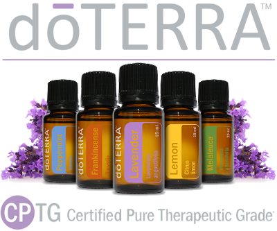 Doterra Essential Oils on Living Things Clip Art